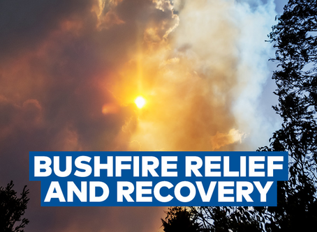 Impacted by Bush fires?