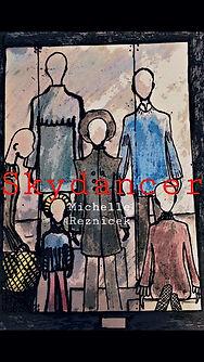 Mit gezeichneten Menschenpuppen erscheint das Romancover von Michelle Reznicek. Das Buch handelt von Walter Müller und Elias Lee.