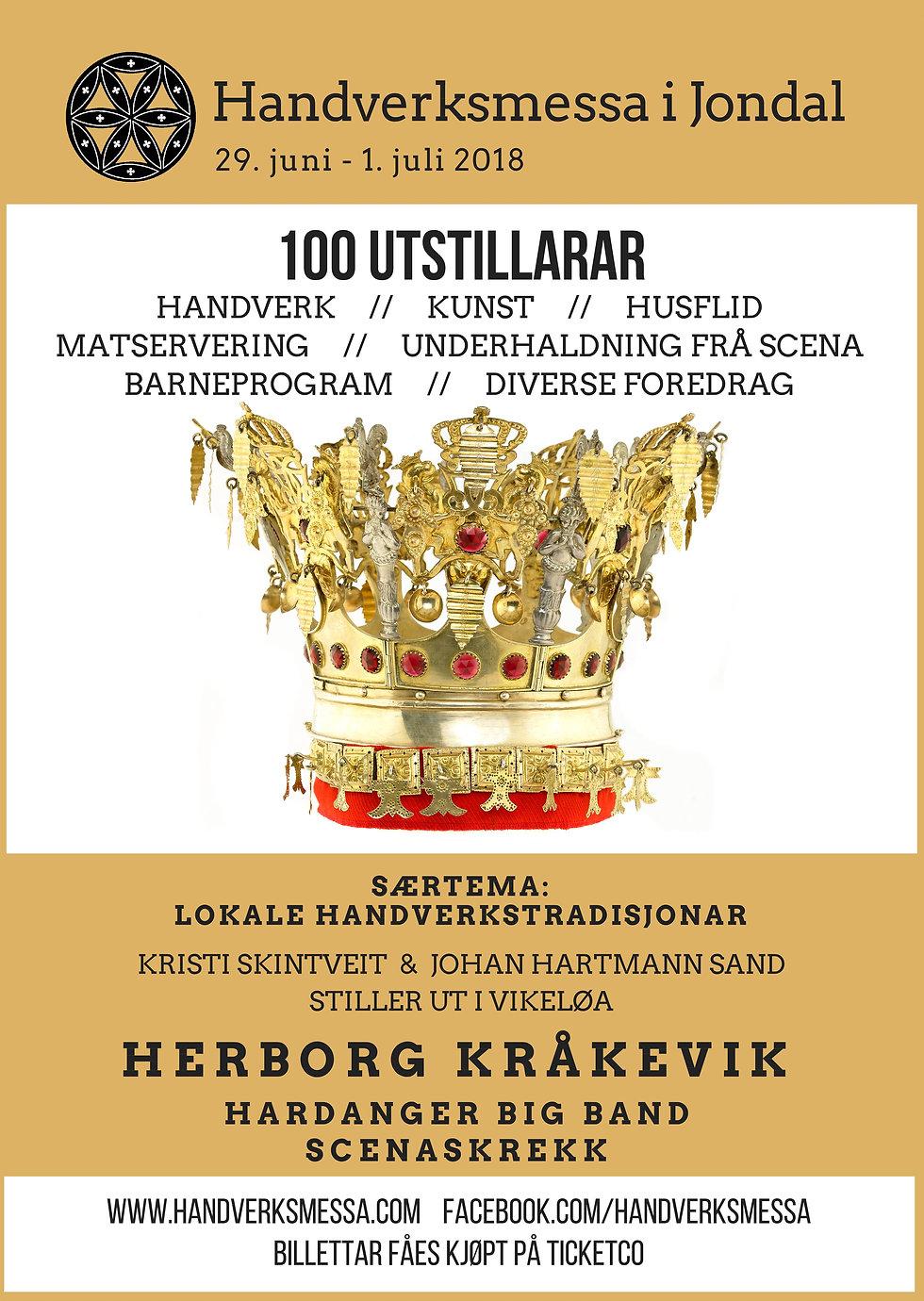 Plakat 2018 Handverksmess