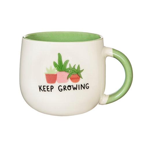 'Keep Growing' Mug   Sass&Belle