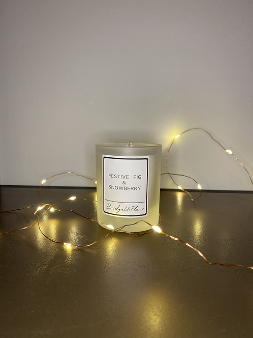 SALE Frosted Candle | Various Scents