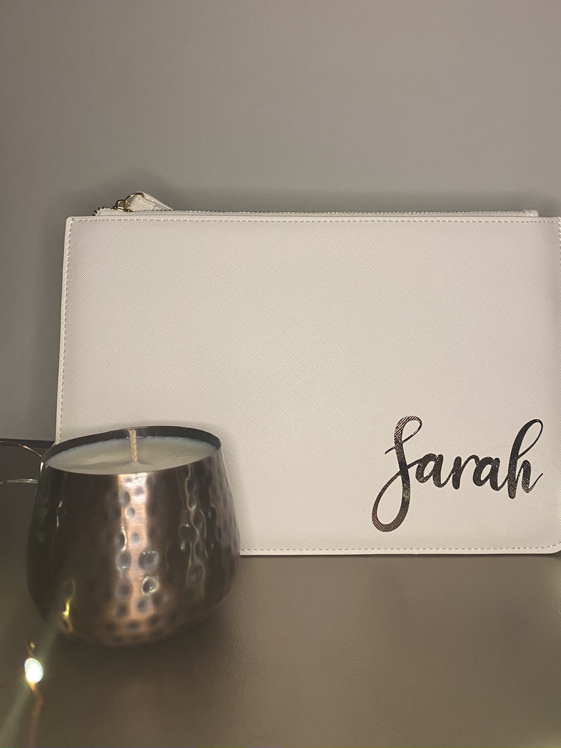 Pouch and Candle Gift Set