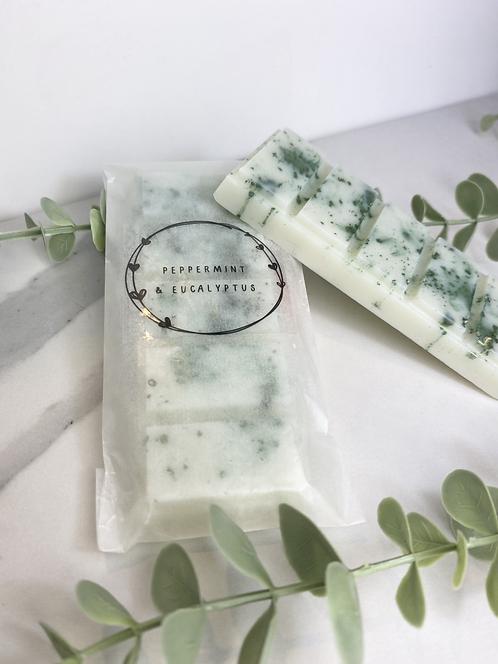 Peppermint & Eucalyptus Wax Melt Bar