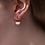 Thumbnail: Cup Half Full Earrings - White