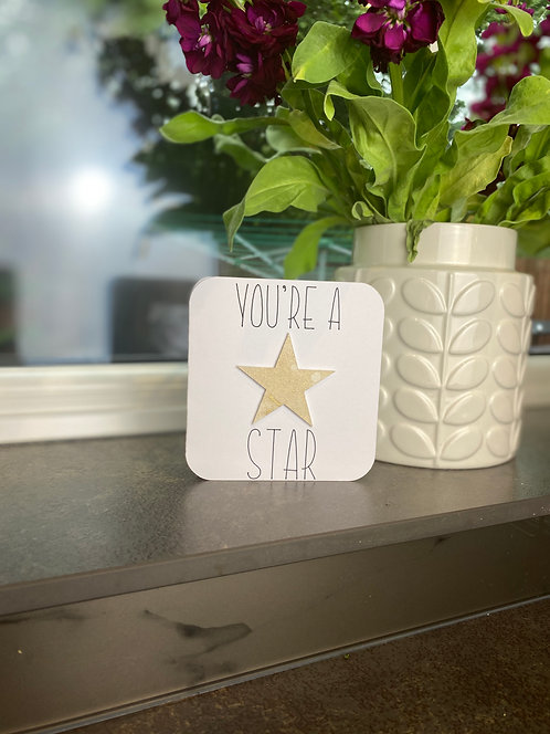 '3D You're A Star' Card