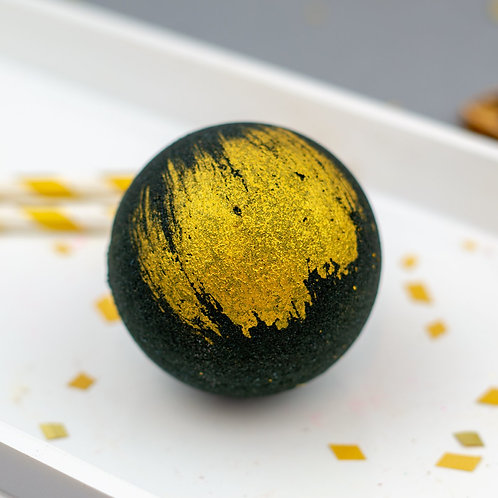 Black&Gold Bath Bomb
