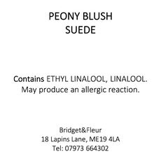 Peony Blush Suede