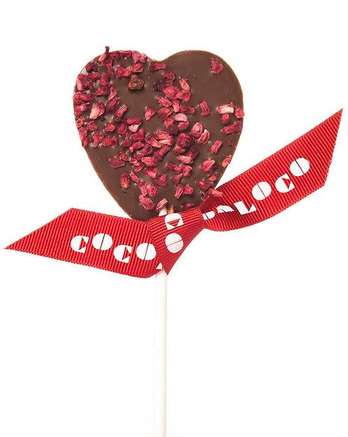 Milk Chocolate & Raspberry Chocolate Lolly
