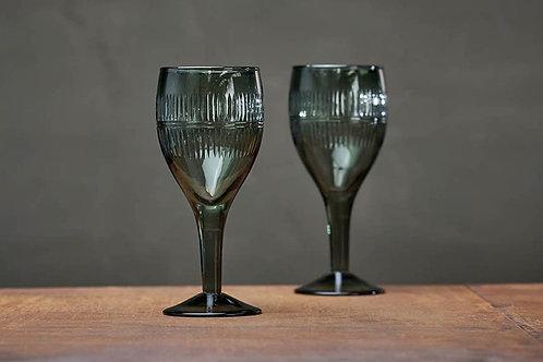 Mila Wine Glass (Emerald)