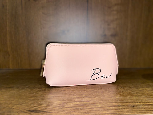Personalised Medium Make-Up Bag