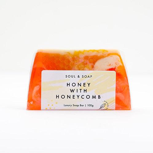 Honey With Honeycomb Soap