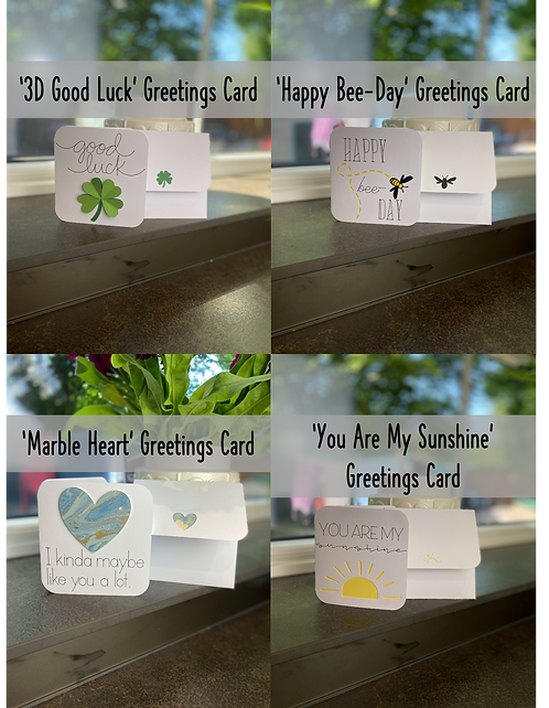 NEW! 3 Card Bundle