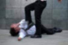 Man being assaulted