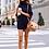 Thumbnail: Plus Size Women Sweater Dress Turtleneck Loose Long Sleeve Dress