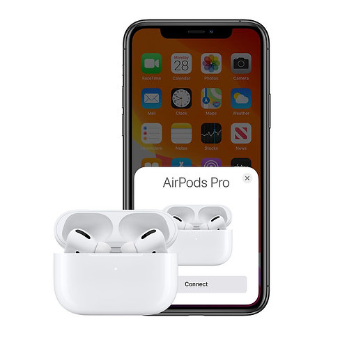 AirPods Pro  style TWS W/Wireless Case White -with noise cancellation
