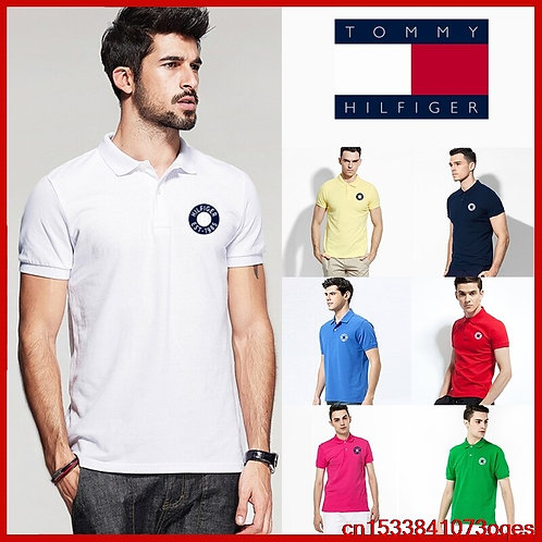 New Original Brand Polo Shirt Men Tops