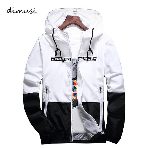 DIMUSI Men's  Windbreaker