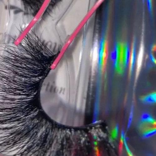 Thick Long 5D mink eyelashes long lasting mink lashes MULTI-LAYER EFFCT