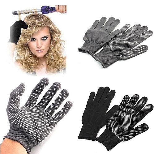 1 Pair Hair Straightener Heat Resistant Glove