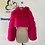 Thumbnail: Winter Warm Fluffy High Quality  Faux Fur Coat Cropped Jacket