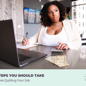 8 Steps You Should Take Before Quitting Your Job