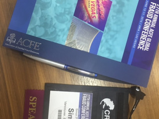 ACFE Fraud Conference in Las Vegas