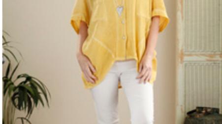 Linen Jacket/Top