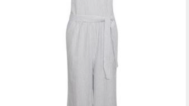 CREAM Pin stripped jumpsuit