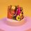 Thumbnail: Animal print satin scrunchie x 2
