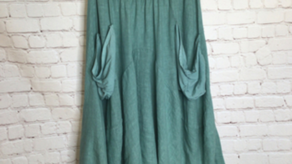 Linen Gipsy Skirt