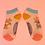 Thumbnail: Koala print bamboo trainer socks