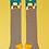 Thumbnail: Pug knee high socks