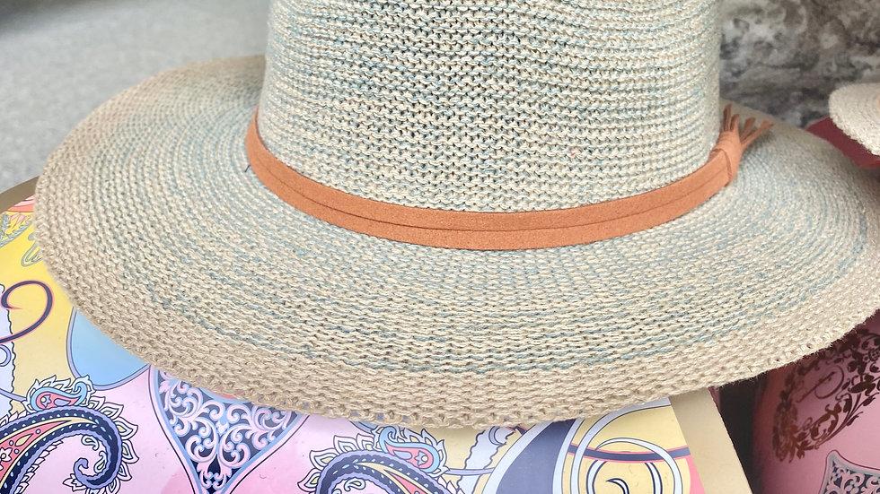 Wicker Straw Hat