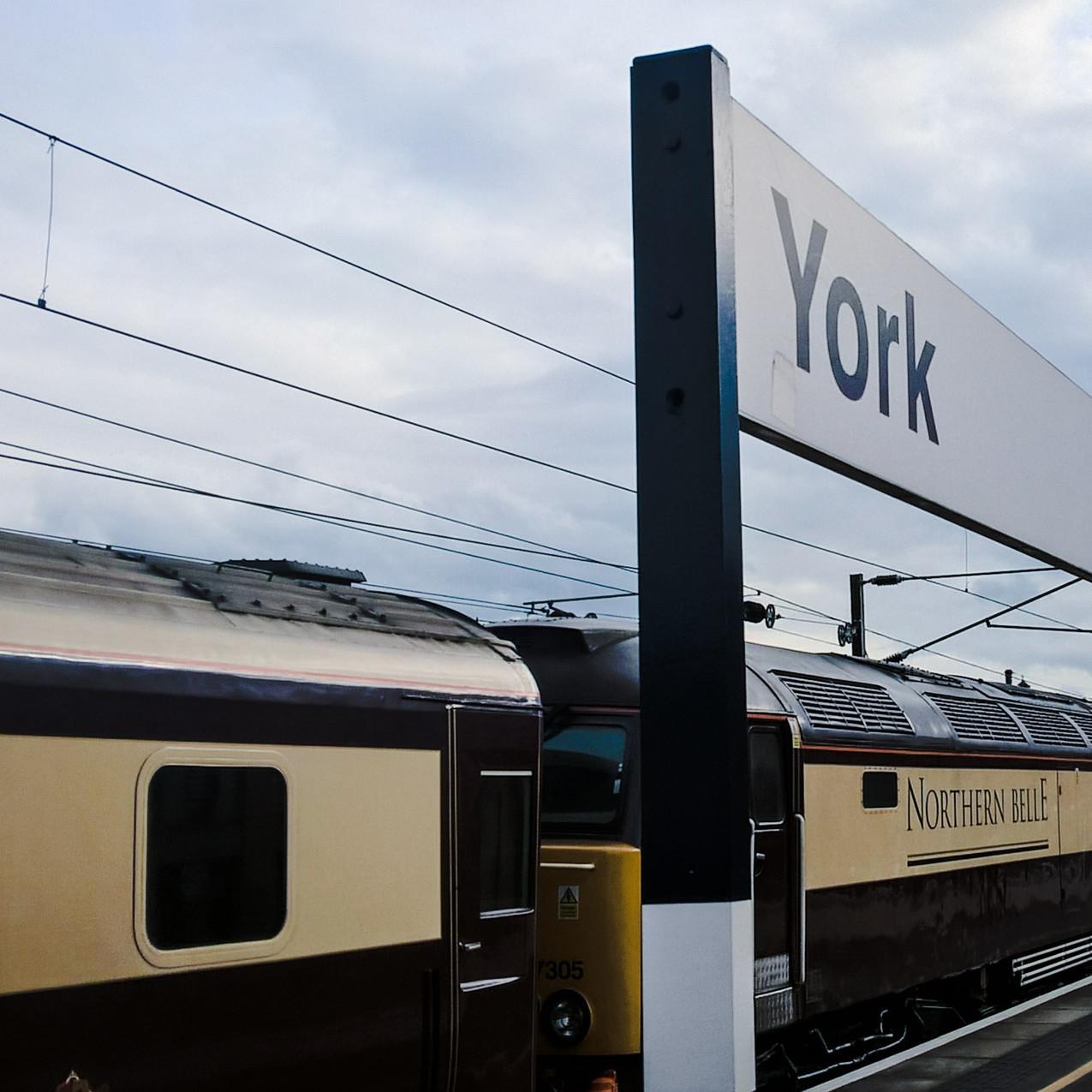Northern Belle in York