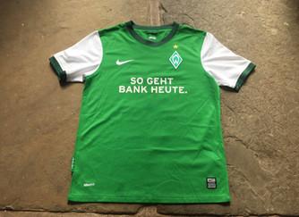 Travels with my football shirts: Werder Bremen