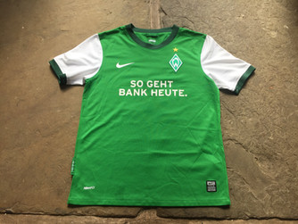 Travels with my football shirts: Werder Bremen
