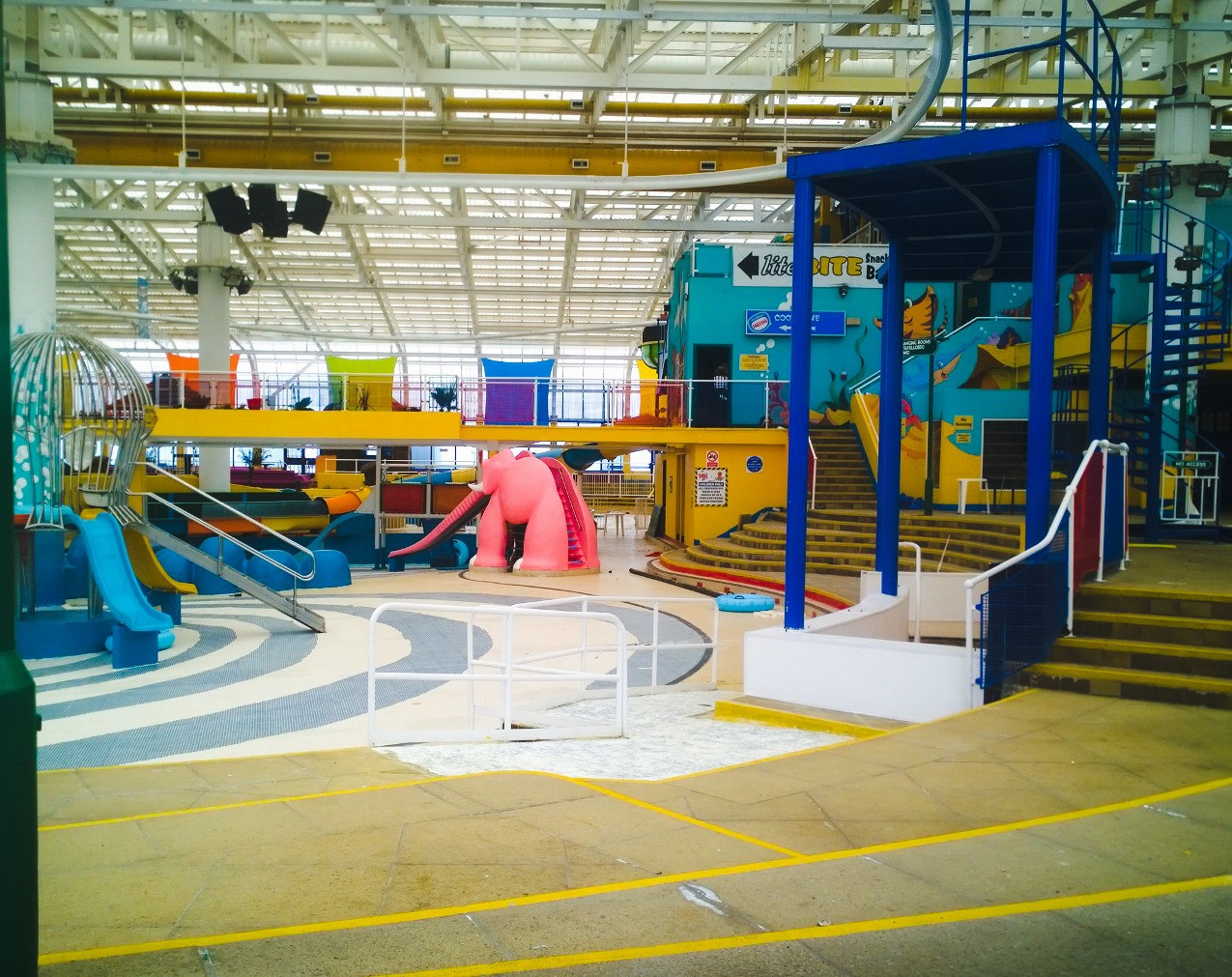 Rhyl Sun Centre Interior