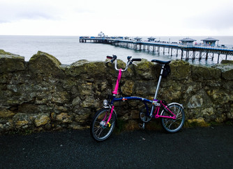 Llandudno to Rhyl on the Brompton