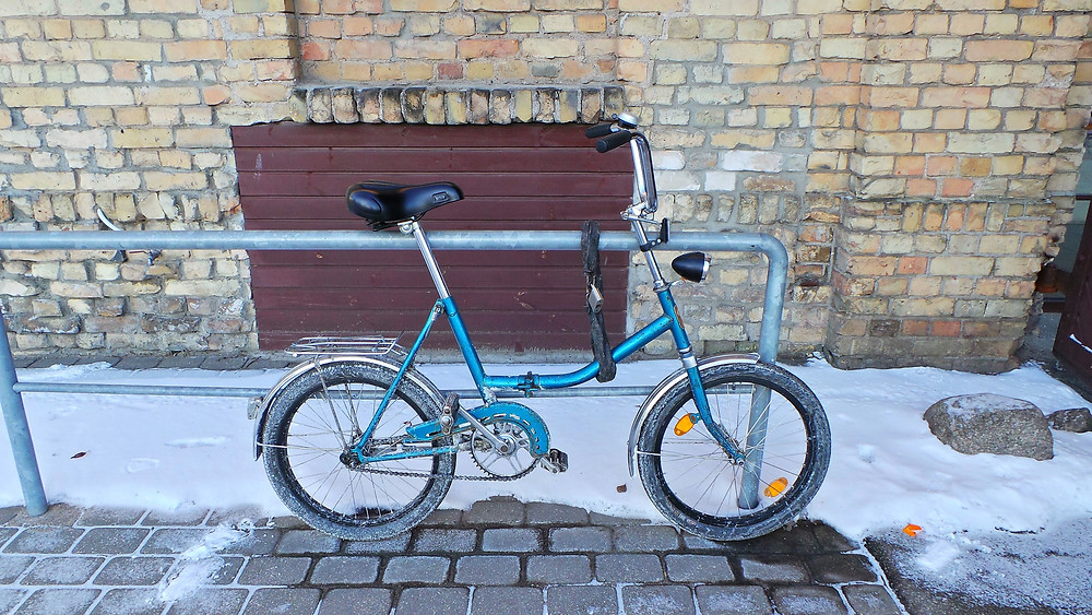 Latvian Shopper Bike