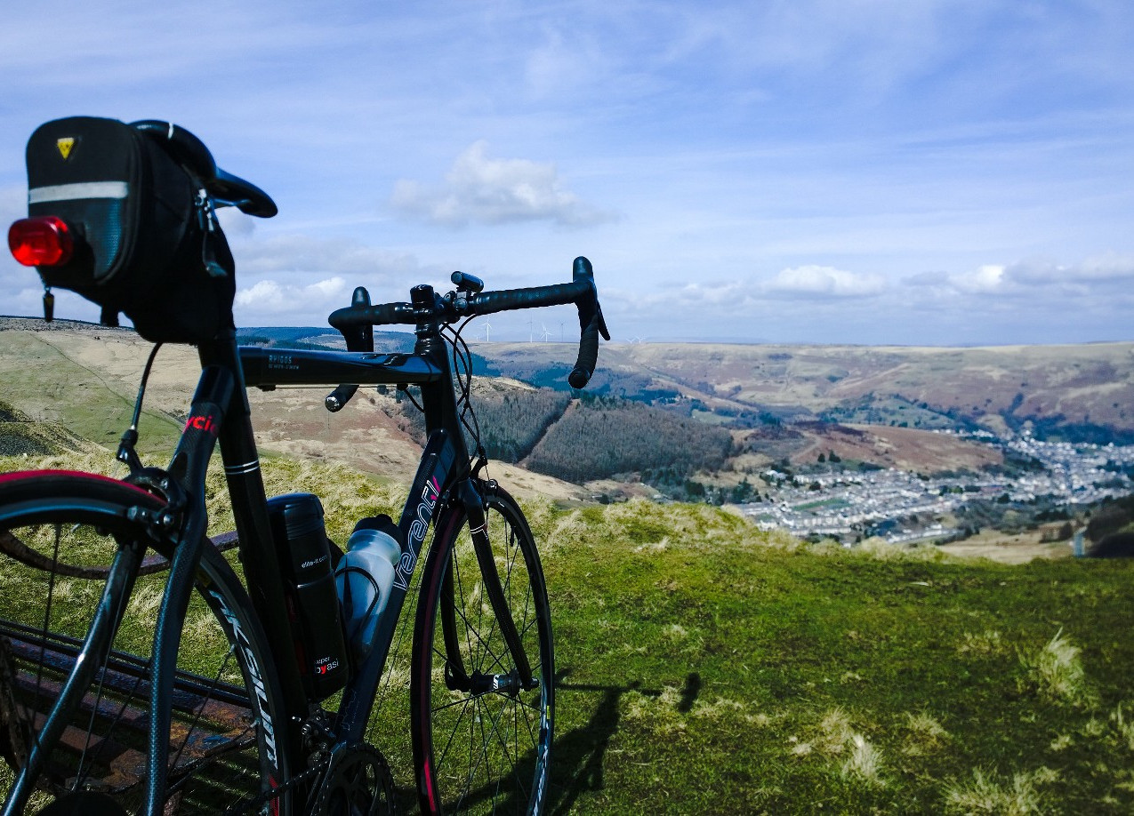 View over the Bwlch