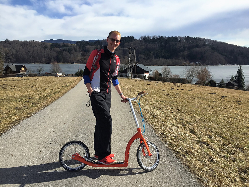 Swifty Scooting in Austria
