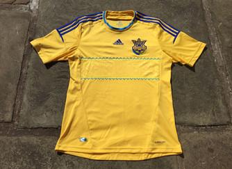 Travels with my football shirts: Ukraine