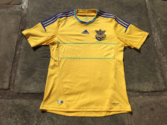 Travels with my football shirts: Ukraine