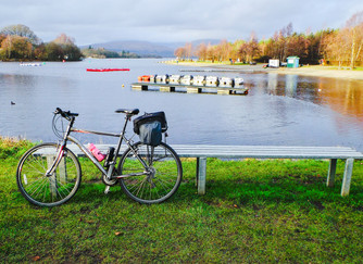 Cycling from Glasgow to Loch Lomond
