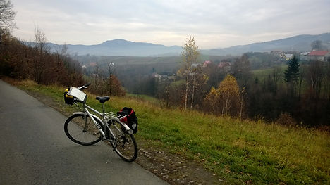 Cycle touring in Poland