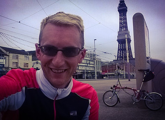 Cycling from Blackpool to Manchester