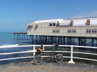 Cycling from Aberystwyth to Newport Parrog