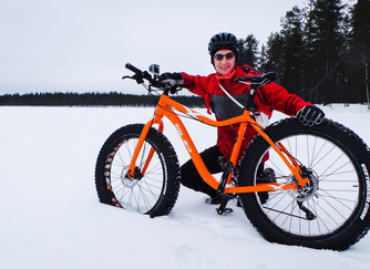Fat Biking in Northern Finland