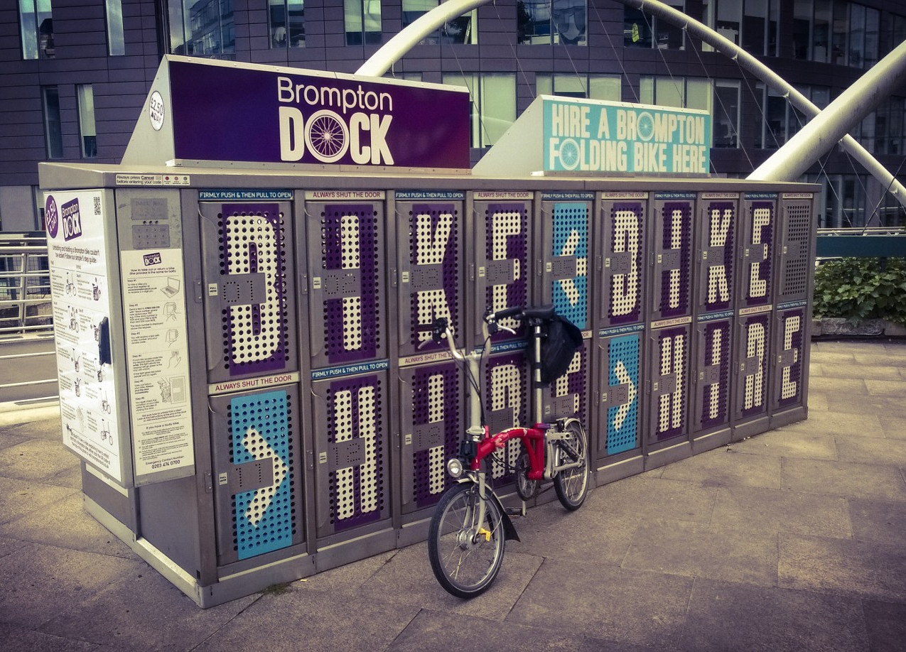 Brompton Bike Hire Station