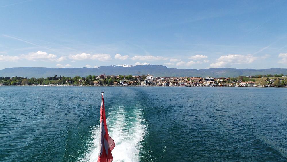 Lake Geneva ferry